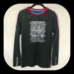 PUMA XL Boys long sleeve athletic shirt